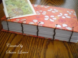 coptic stitch journal