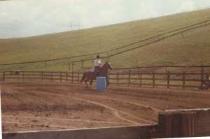 4-H barrel racing #horse